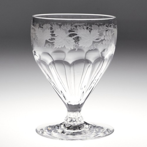 A Hill Ouston Glass Rummer c1935
