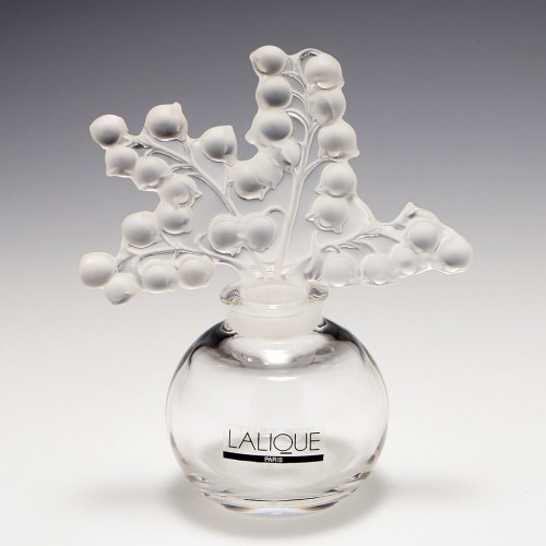 Lalique Crystal Clairefontaine Perfume Bottle
