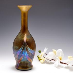 A Rosenthal Iridescent Glass Vase