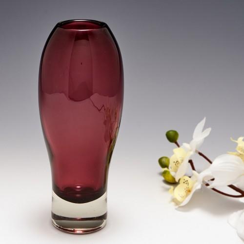 Signed Aimo Okkolin Vase for Riihimaki c1970