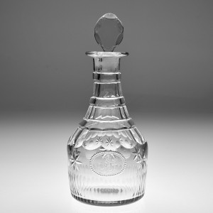A Whitefriars Georgian Style Decanter c1940