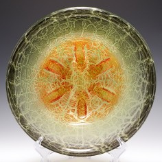 A WMF Ikora Glass Bowl c1930