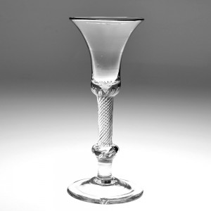 Composite Stem Kit-Cat Form Wine Glass c1750