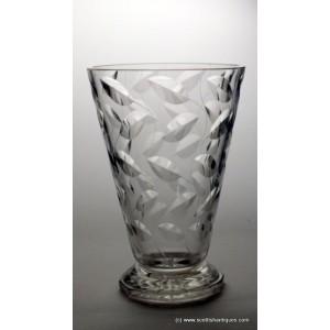 John Walsh Clyne Farquharson Leaf Vase c1940