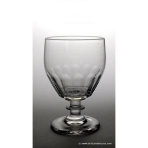 George III Glass Rummer