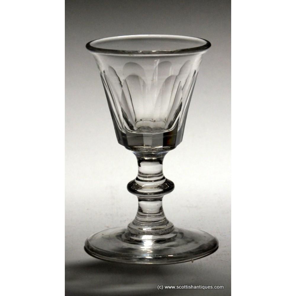 Georgian Dram Glass