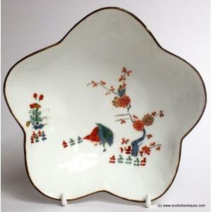 Meissen Porcelain Dish Two Qualis Pattern 1730-35