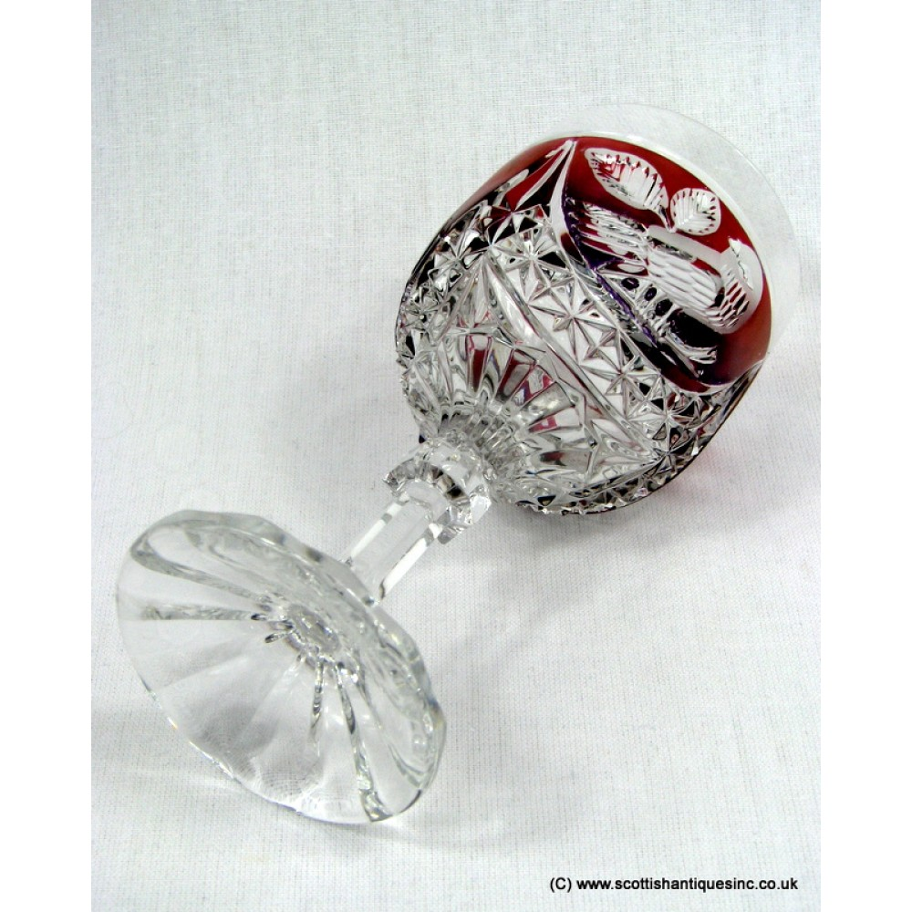 Bavarian Hofbauer 'Byrdes' Crystal