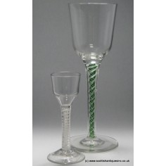 0d3a952daadf SOLD - Very Tall Jospehinehutte Glass Goblet c.1920 (EBAY)