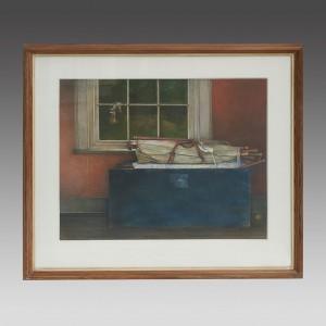 Andrew Hemingway (b.1955) - The Blue Box