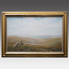Robert Thorne Waite (1842-1935): On The Sussex Downs