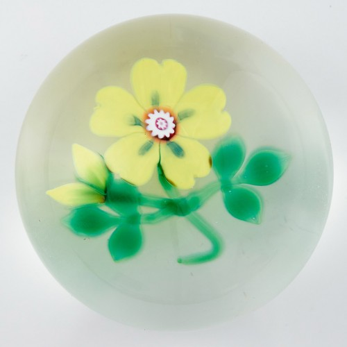 An SGS Limited Edition Lampwork Paperweight From 1999