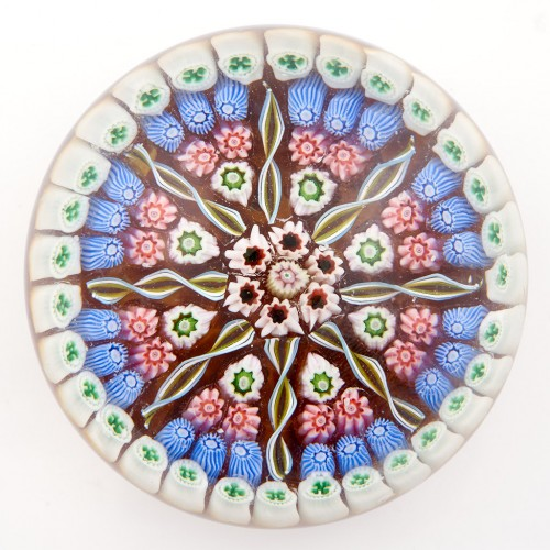 A Perthshire PP5 Millefiori Radial Paperweight c1969-72