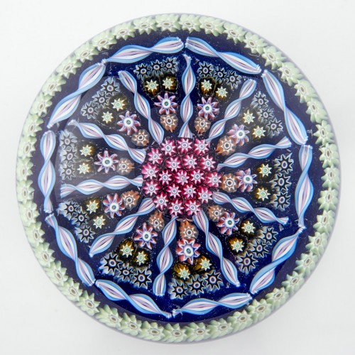 A Perthshire PP1 Ten Spoke Radial Paperweight Post 1982