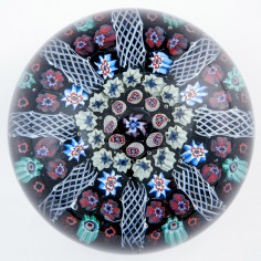 A Large Strathearn Radial Paperweight 1970s