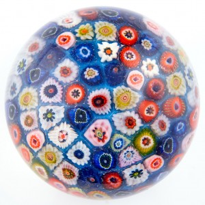 A Large Strathearn Closepack Paperweight c1970