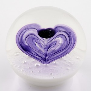 """A Selkirk """"Love"""" Paperweight 1991"""