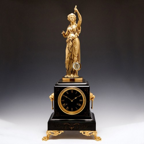 A French 'Mystery' Mantel Clock - c 1870
