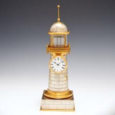 A Rare Automaton  Mantel Time Piece c1895