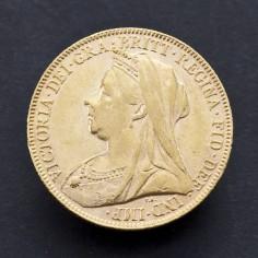 Victoria 1898 Gold Sovereign