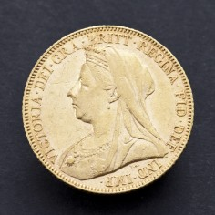 Victoria Old Head 1900 Gold Sovereign