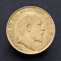 Edward VII 1908 Gold Sovereign