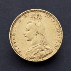 Victoria 1888 Melbourne Mint Gold Sovereign