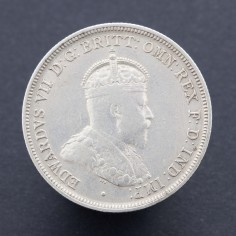 Australia Edward VII 1910 Florin First Australian Issue