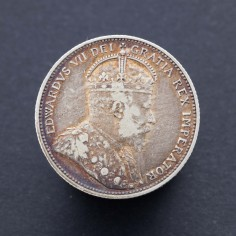 Canada Edward VII 25 Cents 1910