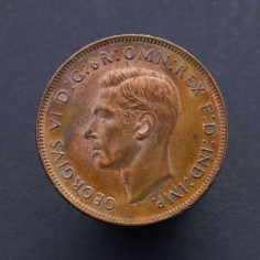 Australia George VI 1938 First Issue Penny Uncirculated