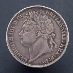 George IV 1822 Silver Tertio Crown
