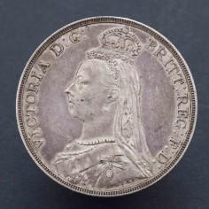 Victoria Jubilee Head 1890 Silver Crown